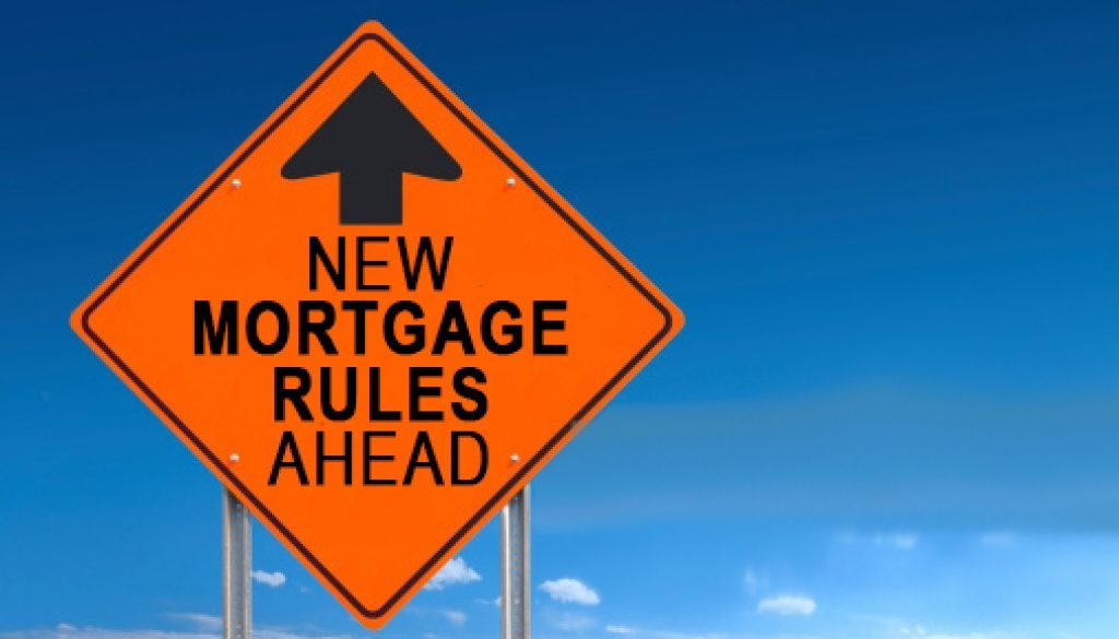New Mortgage Rules 2018
